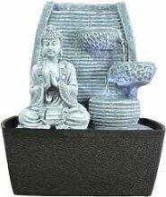 MEDIDATION Fontaine d'Intérieur Mur Bouddha