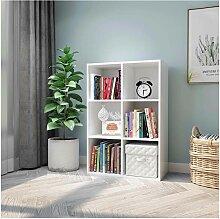 Meerveil - Meuble de Rangement Bibliothèque -