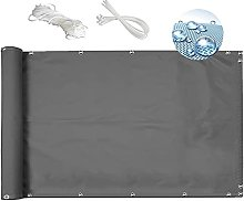 MEEYI Paravent Retractable 0.9x1m écran de Balcon
