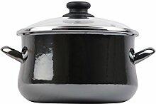 Megafesa Glass - Marmite avec Couvercle, diamètre
