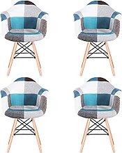 MeillAcc Lot de 4 chaises de salle à manger en