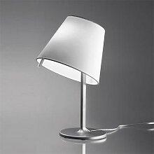 MELAMPO-Lampe Alu abat-jour orientable Ø23cm gris