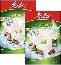 Melitta 2 boîtes de taille 1 x 4 Filtres Café