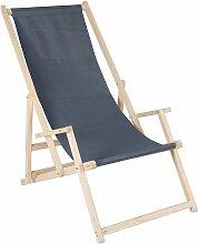 Melko chaise longue chaise de plage chaise de