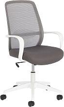 Melva - Chaise de bureau pivotante à roulettes