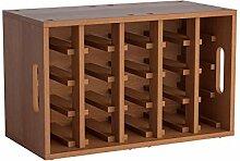 Memomad 14002704 Étagère à vin en chêne 60 cm