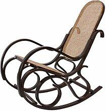 Mendler Rocking-Chair Fauteuil à Bascule, Couleur