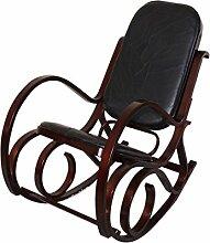 Mendler Rocking-Chair Fauteuil à Bascule M41,