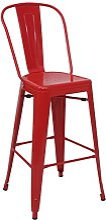 Mendler Tabouret de Bar HWC-A73, Chaise de