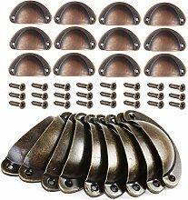 Mengger Boutons de Porte et tiroirs 24Pcs Poignée