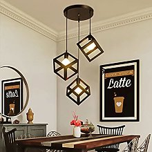 Mengjay 3x E27 Lampes Suspensions Luminaire Design
