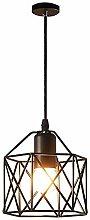 Mengjay E27 Lustre Suspension industrielle,Lampe