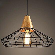 Mengjay E27 Metal Antique Suspensions Luminaire