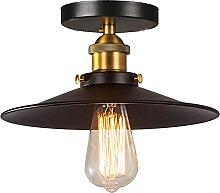 Mengjay E27 Métal Vintage Suspensions Luminaires