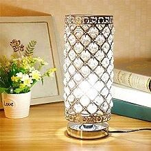 Mengjay Lampe Cristal,abat-jour Lampe de chevet,