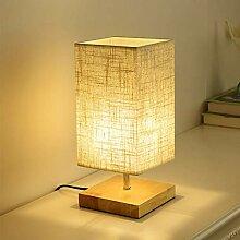 Mengjay Lampe de Chevet Lampe de Bureau Socle en