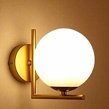 Mengjay LED Applique, Lampe murale de boule en