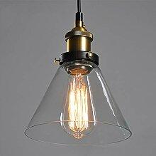 Mengjay Suspension Vintage Luminaire Industriel