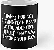 Merci de ne pas mettre mon mari de l'adoption