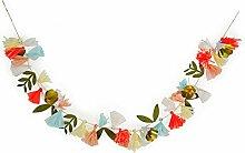 Meri Meri, Bouquet de fleurs, guirlande