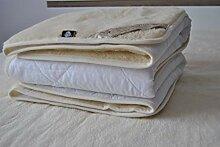 Merino Wool Bedding Cashmere Mattress Topper Pad