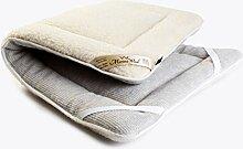 Merino Wool Surmatelas réversible en laine