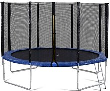 Merkmak - Trampoline d exterieur avec barriere de