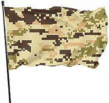 Mesllings 1 fanion camouflage coloré 10,2 x 15,2