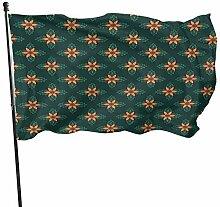 Mesllings Fanion décoratif en fibre de polyester