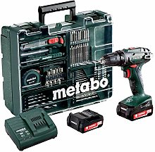 Metabo BS 14,4 SET Mobile Workshop 74 ACC Perceuse