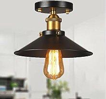 Métal Vintage Suspensions Luminaires E27,