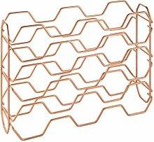 Metaltex Lot de 15 Porte-Bouteilles en cuivre, 43