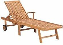 #MEUBLE#5581Magnifique Chaise longue Transat Bains