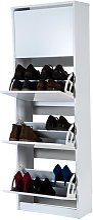 Meuble à chaussures Rin 53AB   Blanc