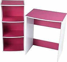 MEUBLE COSY ANCUL Pink R1 Bureau Informatique Avec