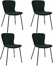 MEUBLE COSY Lot de 4 chaises de Salle à Manger