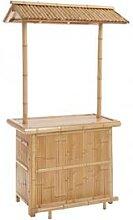 Meuble de bar exotique en bambou PAILLOTTE