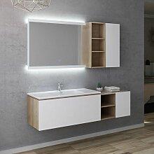 Meuble de salle de bain ALASSIO 1000 Scandinave