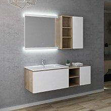 Meuble de salle de bain ALASSIO 800 Scandinave