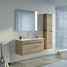 Meuble de salle de bain BOVALINO 1000 Scandinave
