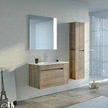 Meuble de salle de bain BOVALINO 800 Scandinave