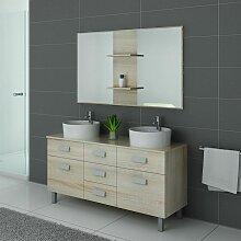 Meuble de salle de bain DIS911 Scandinave