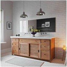 Meuble de salle de bain samui - couleur teck