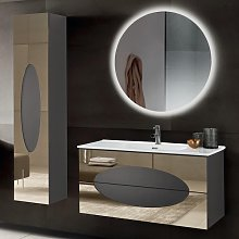 Meuble de salle de bain suspendu moderne base 100