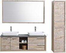 Meuble de salle de bain Vermont 150cm lavabo