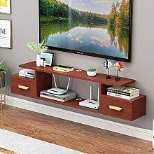 Meuble de télévision mural Set top box routeur