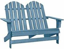 Meuble Déco, Chaise de jardin Adirondack 2 places