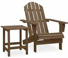 Meuble Déco, Chaise de jardin Adirondack avec