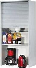 Meuble haut de cuisine alu 60 cm h 124 cm