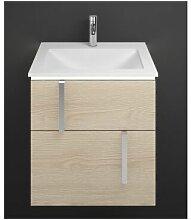 Meuble-lavabo en fonte minérale Eqio avec